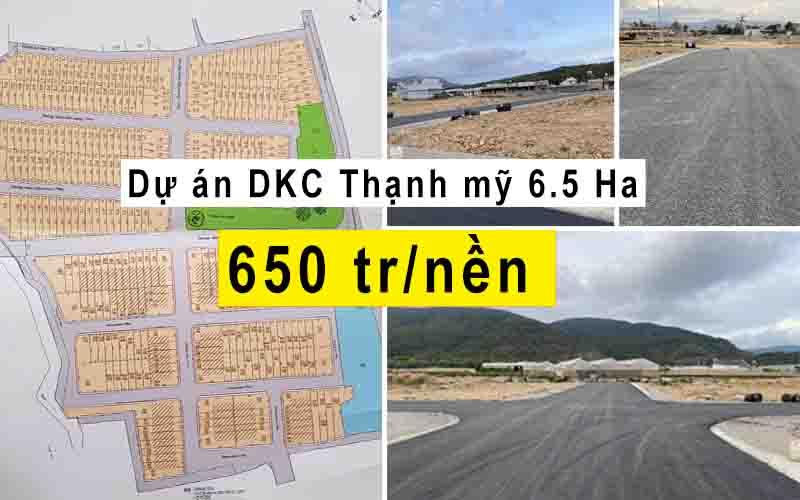 du an DKC thanh my 65ha